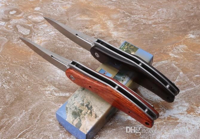 Новые Gambler D2 сталь черное дерево и кунжутное дерево 58-60HRC кемпинг охотничий нож складной нож 1шт бесплатная доставка