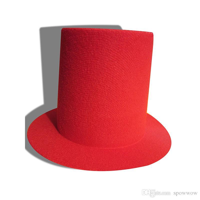 Mini cappellino alto da donna alto modisteria Fascinator base fai da te artigianale clip a coccodrillo tinta unita A006