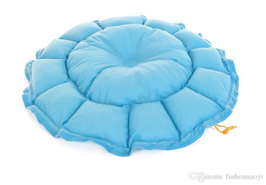 캐시미어와 같은 부드러운 따뜻한 애완 동물 고양이 개 침대 사육장 확장 가능한 수축 둥지 럭셔리 개 침대 라운드 무료 배송