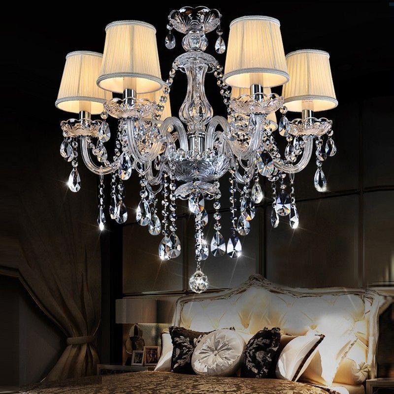 Luxus hängenden Kronleuchter Indoor moderne Kronleuchter Glanz Crystal  Light Restaurants Bekleidungsgeschäft Schlafzimmer Lampe Glanz Leuchte  Licht ...