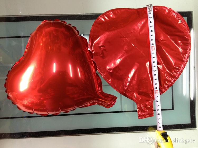 Aluminum Foil Balloons Wedding Decoration Love Helium Inflatable Balloon Party Supplies 10 Style 10 Inch C156Q