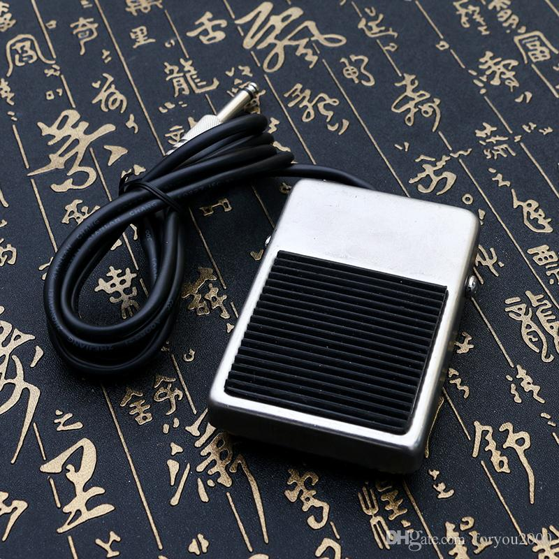 New Style Tattoo Foot Pedal High Quality Stainless Steel pedal for Tattoo Power Supply Footswitch FS229