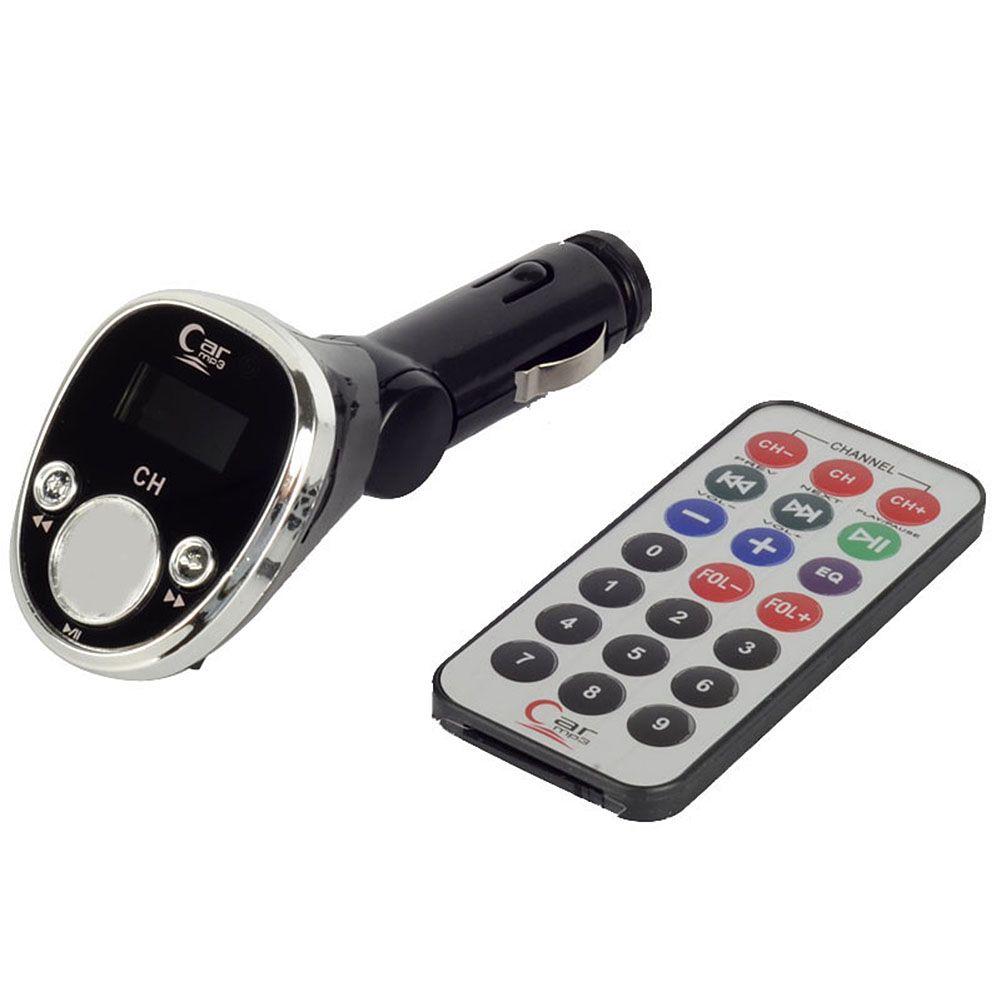 O jogador MP3 do carro 12V 5m FM sem fio transmite o M00084 remoto VPRD