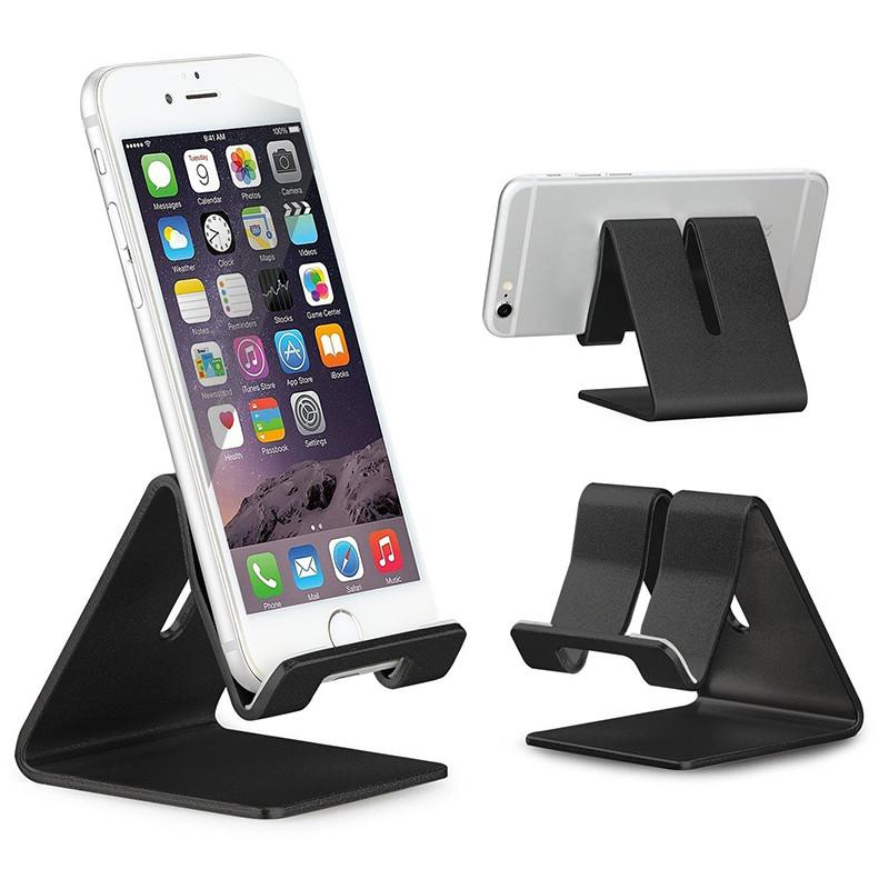 2018 Universal Portable Aluminium Alloy Mobile Phone Holder Bed Office Desk  Table Holder For Iphone 8x Huawei Xiaomi Tablet Holder Stand From ...