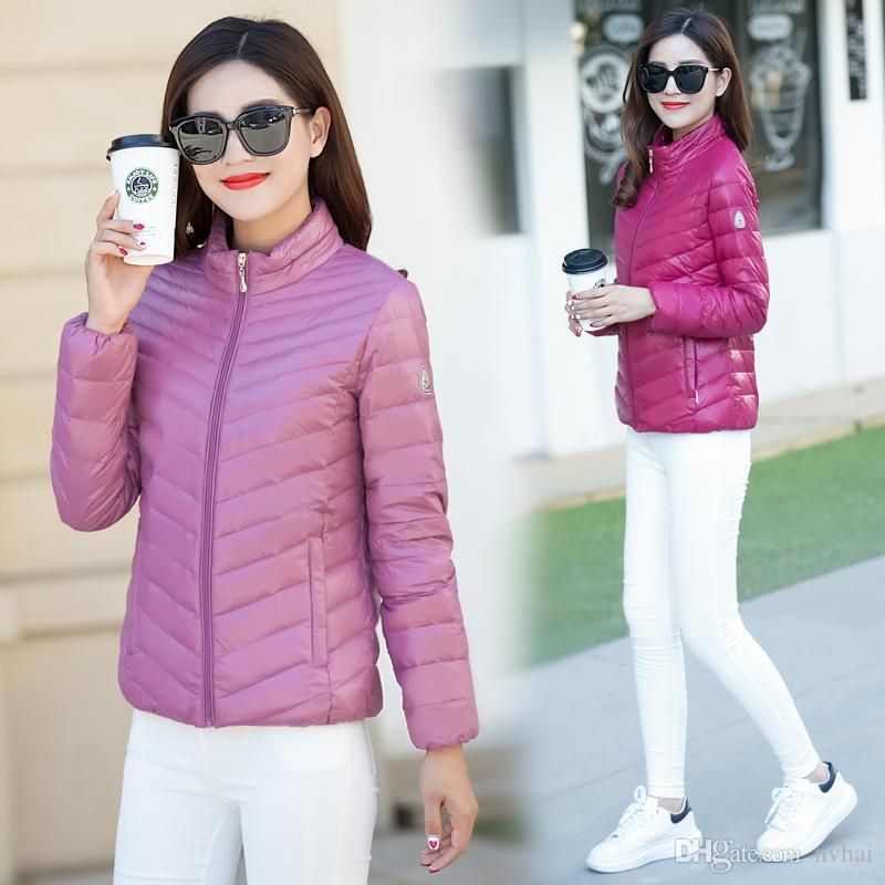 2018 Uniqlou0027S Factory Sale! Womens Duck Down Puffer Jacket Coat Ultralight  Outdoor From Nvhai, $32.17 | Dhgate.Com