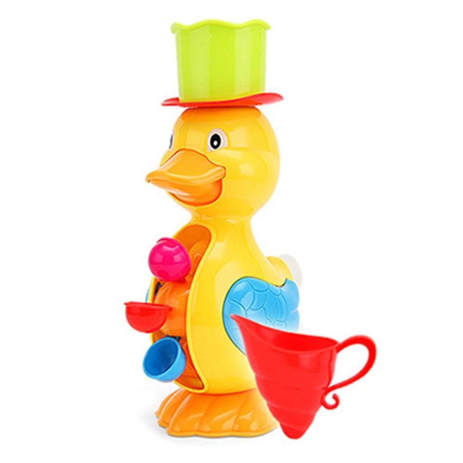 Wholesale- New Arrival Children Faucet Bath Toy Baby Bath Duck Toys ...
