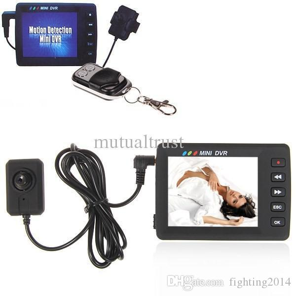 Control remoto Mini botón DVR Pantalla LCD de 2.7