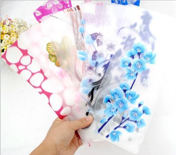 Unbreakable pieghevole riutilizzabile decorazioni feste vasi in plastica vaso di fiori creativo pieghevole vaso magico in pvc 12 cm * 27 cm colore della miscela decorazioni la casa