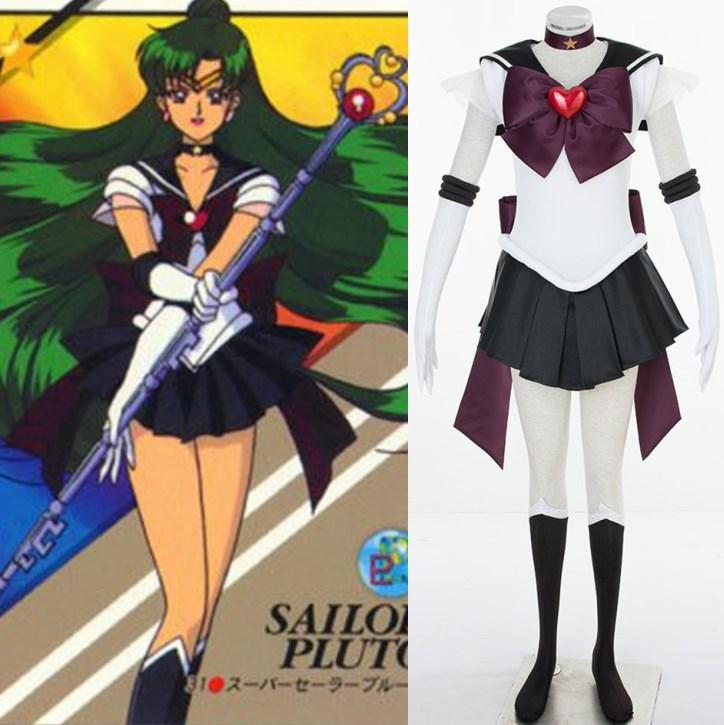 supers sailor moon cosplay tenoh haruka sailor uranus cosplay halloween costumes anime maid costume squall cosplay from hosiyoubi 8543 dhgatecom