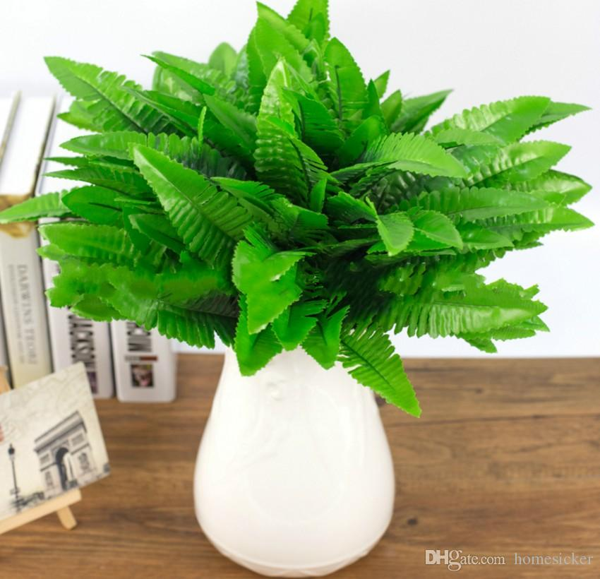 Artificielle Fleur Feuilles Plantes Joli Faux Réaliste En Plastique Persan Herbe Lysimachia Fougère décoration florale livraison gratuite