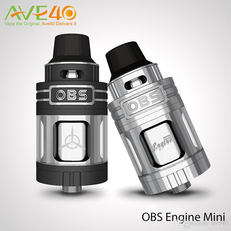 OBS Engine Mini RTA Tank 3 5ml Capacity Side Filling 23mm with POM Drip Tip  Fit Limitless LUX 215w