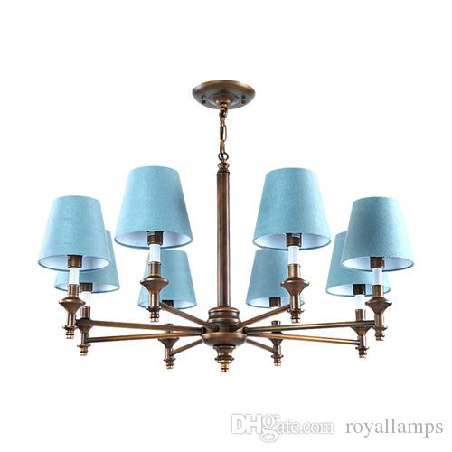 Modern led blue with shade crystal chandelier lights lamp for living modern led blue with shade crystal chandelier lights lamp for living room light ceiling fixture indoor chandeliers home decorative chandelier ceiling fan aloadofball Gallery