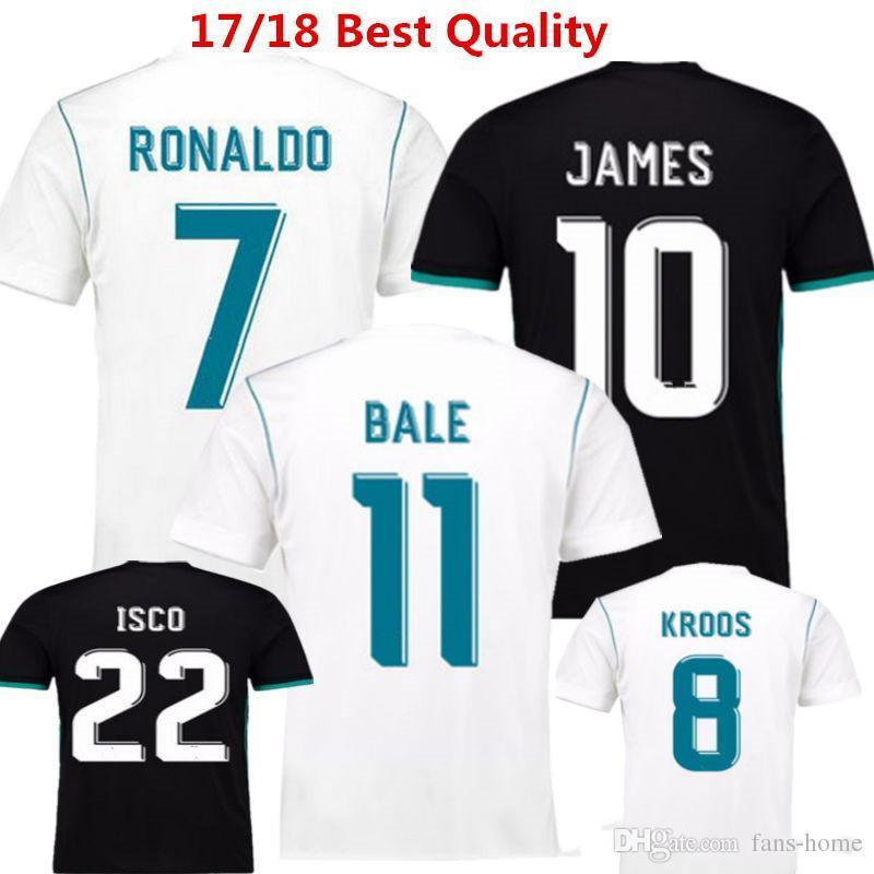 2a5e365dfa0 Soccer Jersey Madrides Football Shirts Benzema CRonaldo Camisetas De ...