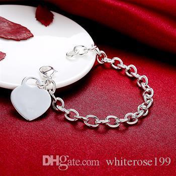 Großverkauf - Kleinster Preis des Kleinhandels Weihnachtsgeschenk, freies Verschiffen, neues Silber Art und Weise 925 Armband B268
