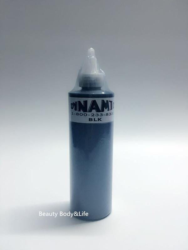 Wholesale Free Shipping 250ml 12oz 330g Black Color Dynamic Pigment Kit Permanent Tattoo Ink