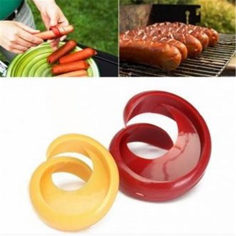2018 Wholesale Hot Dogs Cutter Fancy Sausage Cutter Outdoor Barbecue ...
