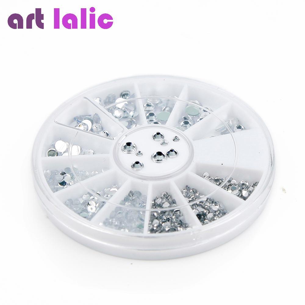 Großhandel 3d Nail Art Dekorationen Acryl Diamant Formen Strass To ...