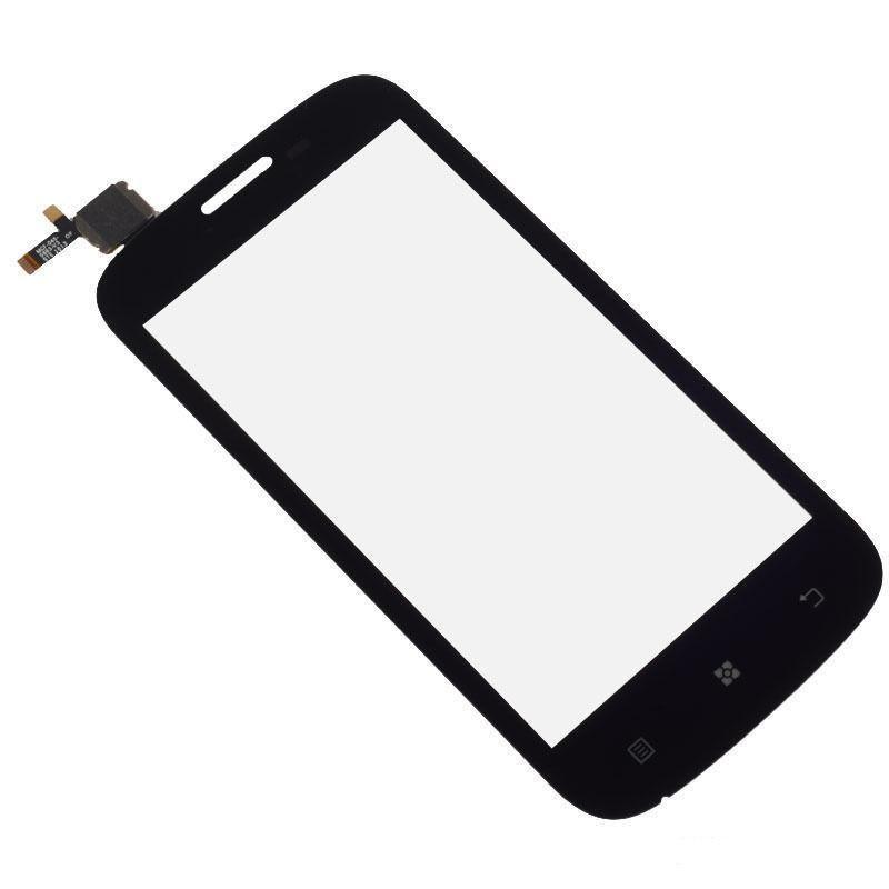 Alta calidad superior A760 frontal de vidrio de la lente de la pantalla táctil del panel digitalizador para Lenovo A760 piezas de repuesto del teléfono