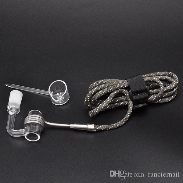 Heating Coil Cord with quartz nail for Mini E Electric Dab Nail E Vapor Wax Dry Herb Electronic Temperature Controller Box