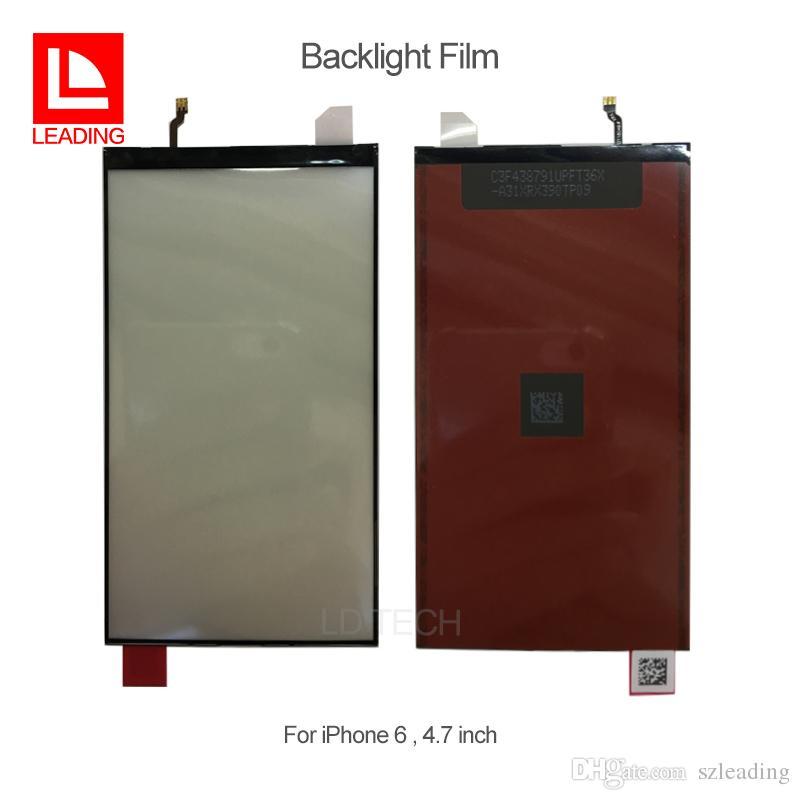 Оригинальный новый ЖК-дисплей подсветка фильм для iPhone 5 5s 5c 6 6plus 6 S 6 S plus 7 7plus замена Бесплатная доставка