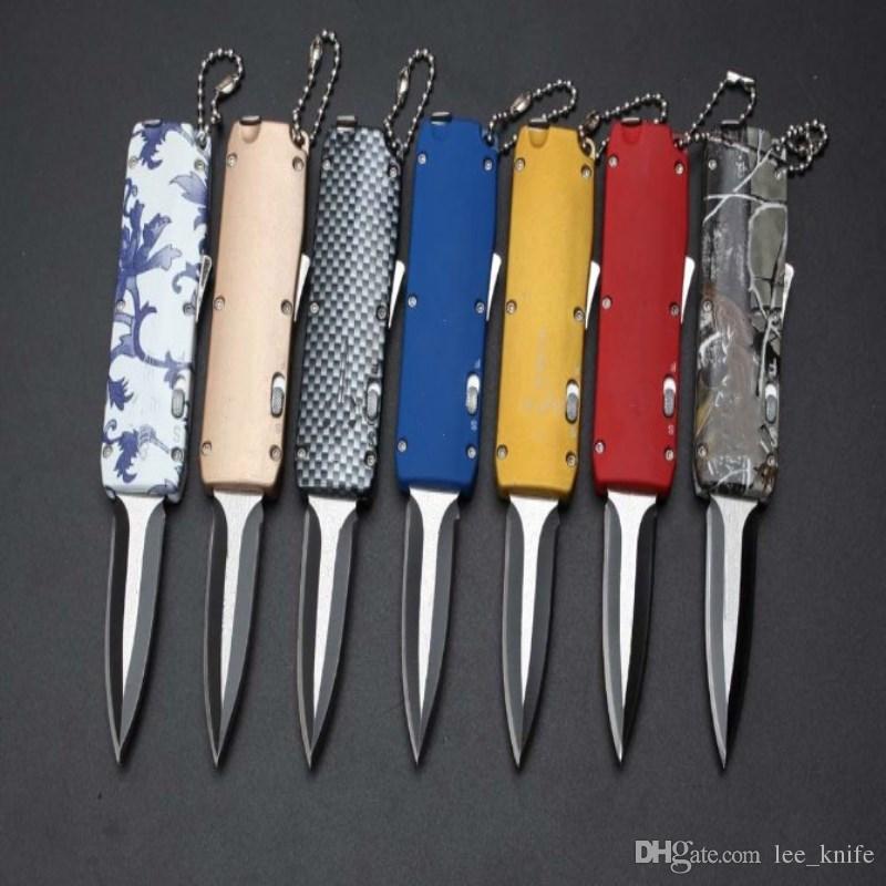 Più nuovo consiglio mi mini coltello pieghevole 7 modles caccia pieghevole coltello da tasca regalo di natale gli uomini copie 1 pz