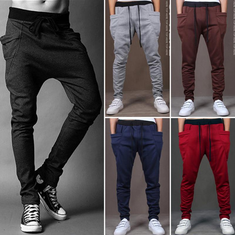 2afad4ac9 2019 Men Casual Pants Cool Design Moletom Big Pocket Top Here Brand Clothing  Army Trousers Hip Hop Harem Pants Mens Joggers From Marrisha, $24.69 |  DHgate.