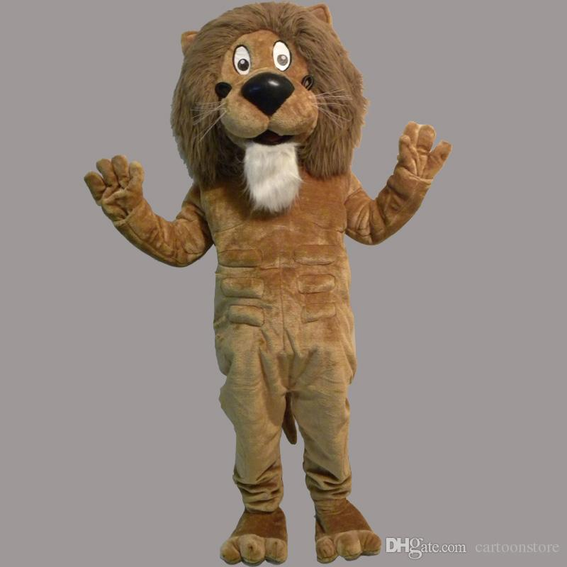Mascot Costume Lion Halloween Christmas Birthday Character Costume Dress Adult Size King Lion Mascot