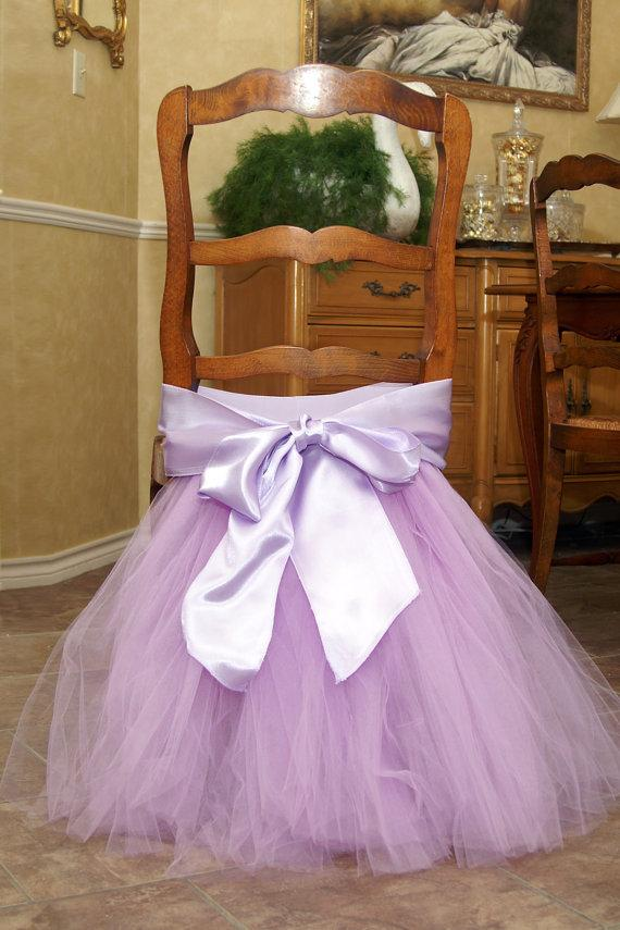 Pink White Tutu Tulle Chair Sashes Satin Bow Sash In Stock Chair Skirt Ruffles Wedding Decorations Chair Covers Party Supplies 45x35cm