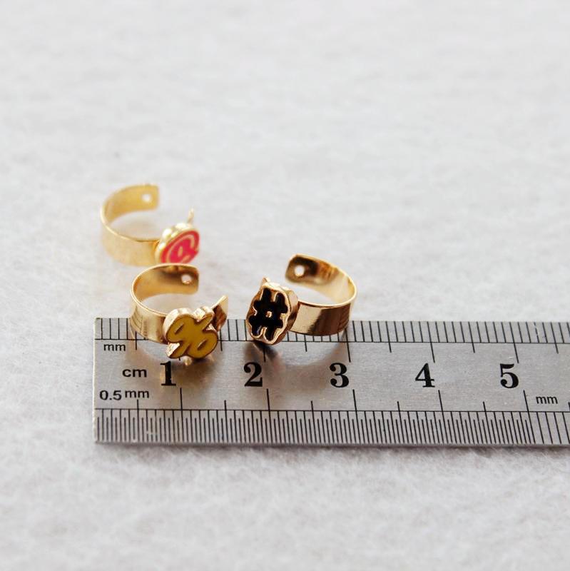2016 Fashion Ear Cuff Jewelry Golden No Pierced Clip On Earrings For Women Girls Boucles Bijoux Accessories