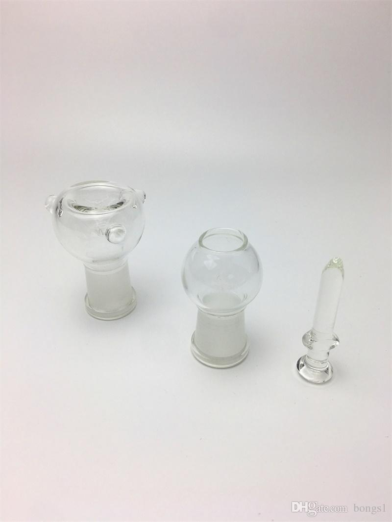 "Glass Water Smoking Pipe Percolator Pipes Honeycomb Disk Bong With Arm Tree Perc Vase 9.8""/ 12"" Height"