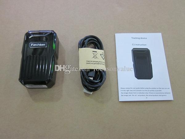 C1 Vehículo Rastreador GPS A prueba de agua GSM GPRS Rastreador GPS sistema anti-pérdida para dispositivos de alarma antirrobos de coches con potente plataforma libre de imanes