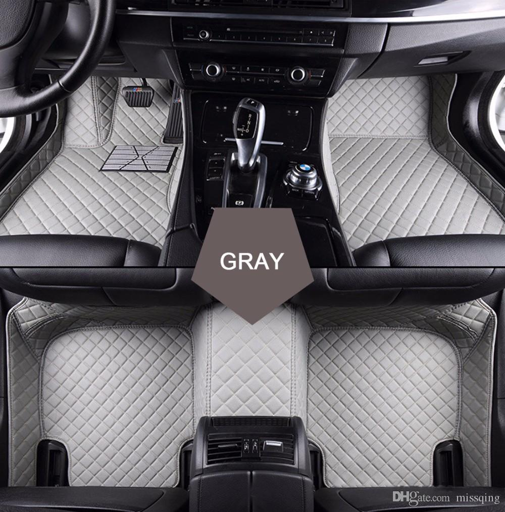 carpets audi full floor custom mat mats liners waterproof pin leather car set suv for cargo