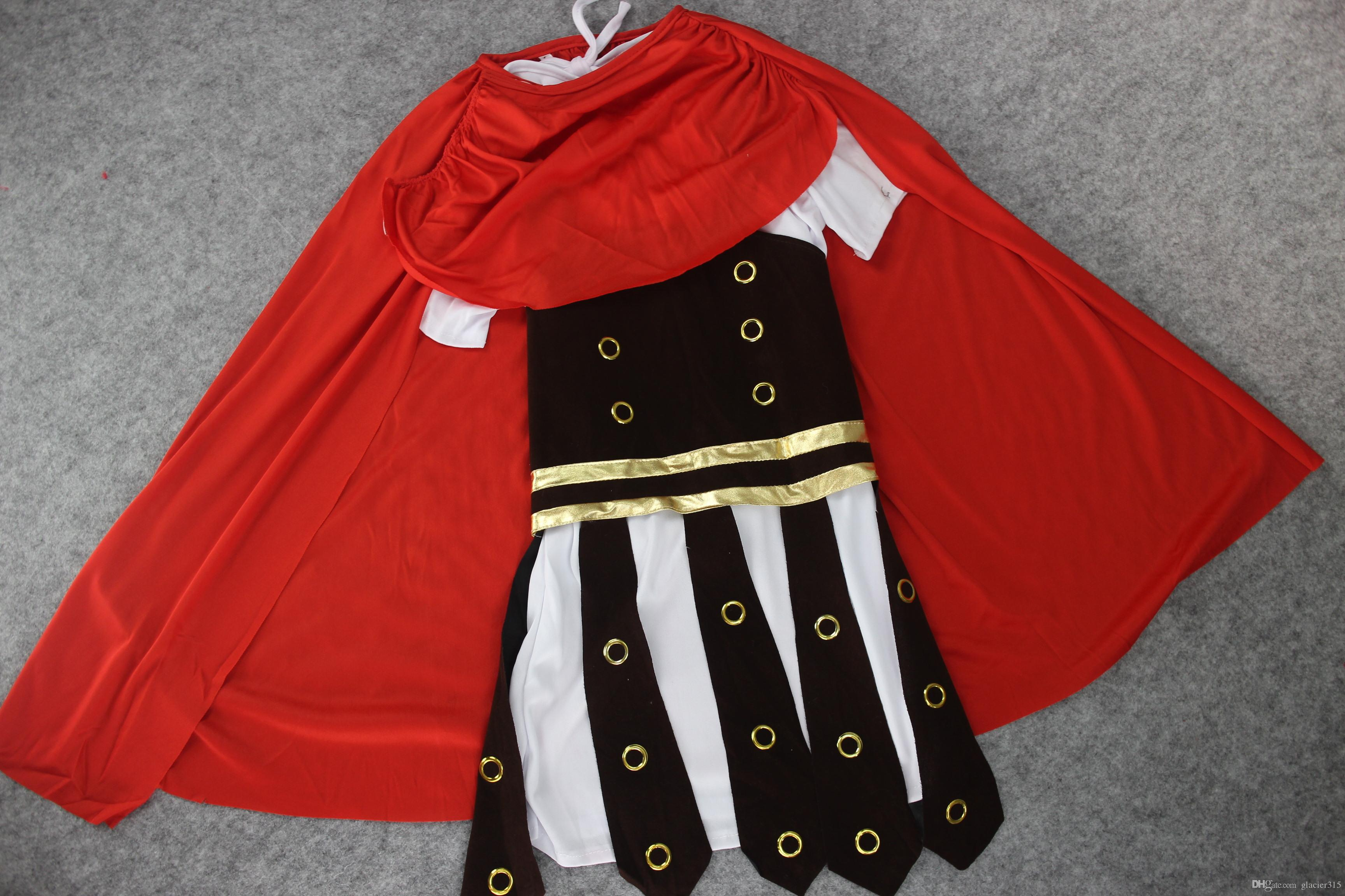 Disfraces de roma antigua para niños disfraz de cosplay guerrero romano niños trajes de soldado romano para niños ropa de cosplay de halloween