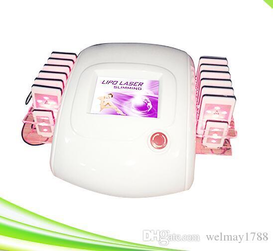 Yüksek kaliteli 14 pedleri lipolaser ben lipo lazer satılık kilo zayıflama lipolaser makinesi