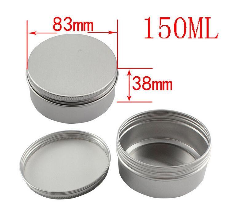 Altri formati Contenitori vuoti Barattolo di alluminio Lattine di tè Astucci scatole in alluminio Trucco Vasetti lucidalabbra vuoti Vasetti cosmetici