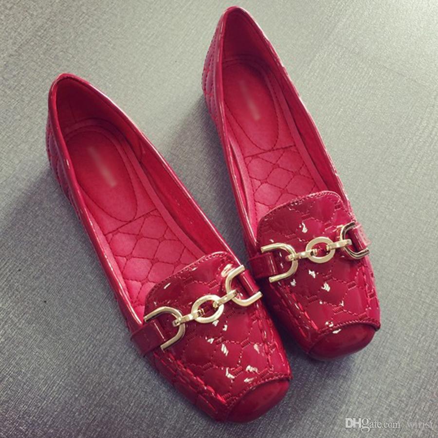 8efad45e3 Compre Mulheres Apartamentos Sapatos Compras Online Barato Senhoras Vestido  Escritório Saltos Sapato Comprar Moda Feminino Trabalho Calçado Desconto  Sapato ...