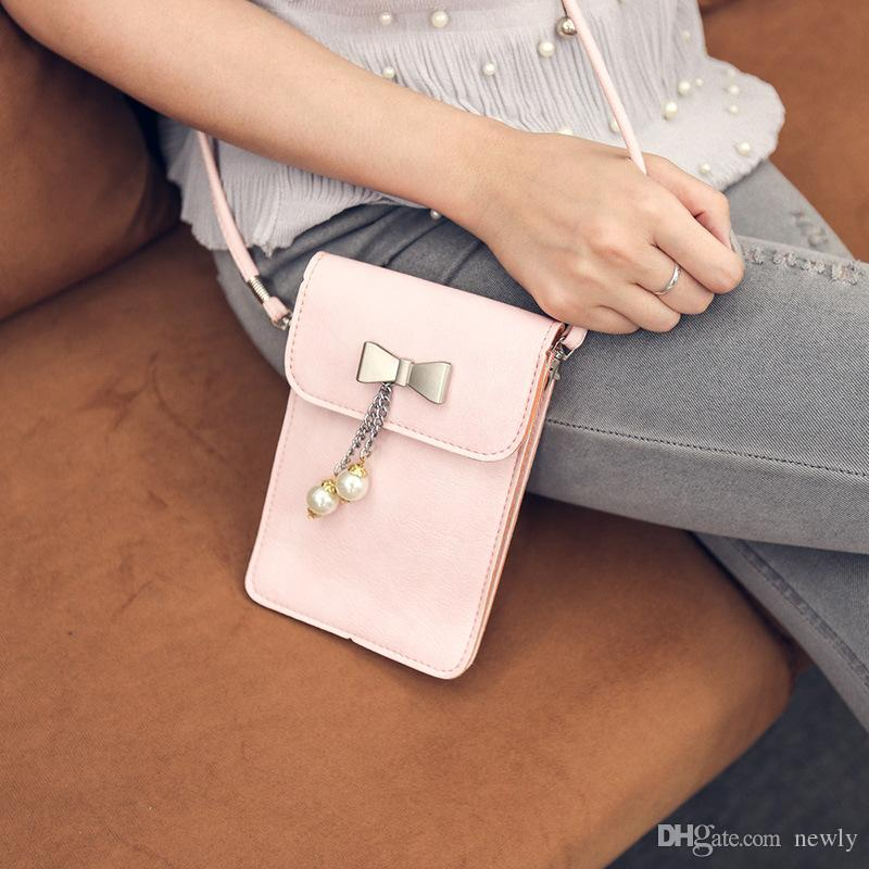 Fashion Womens designer handbags Detail Crossbody cell phone purse Ladies Shoulder bag clutch bag cross body bags