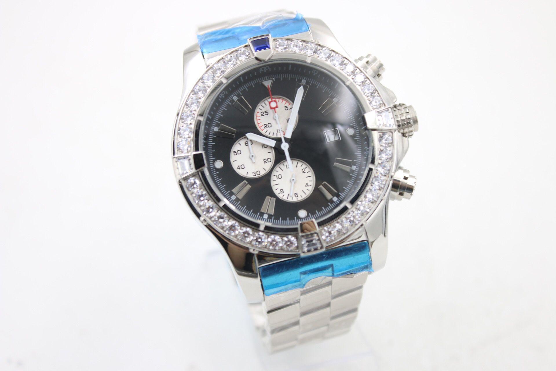 0ce39d27966a AAAA 1884 CHRONO SUPEROCEAN New Shelves Diamond Luxury Brand Bang TG ...