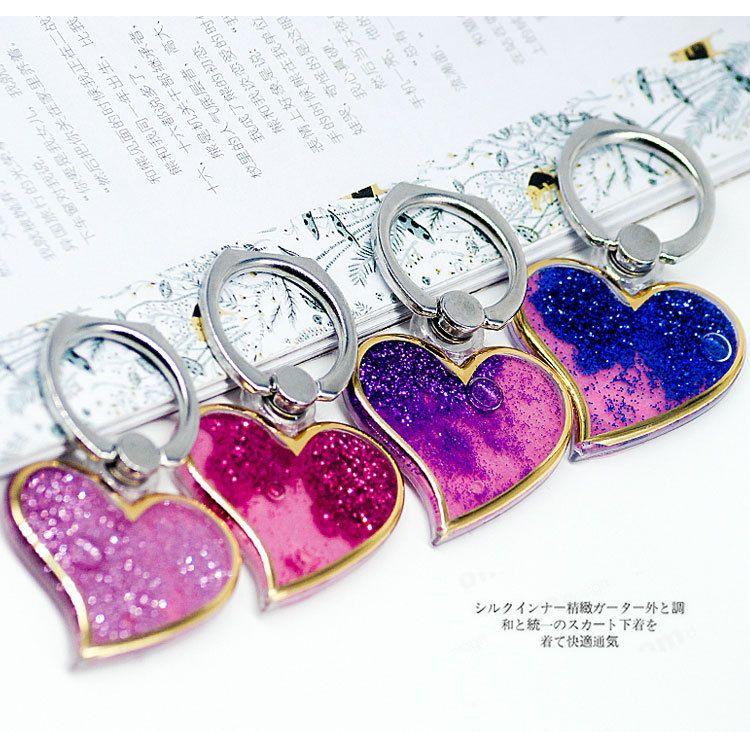 Araba El Moda Kadınlar Kız Lady Yaratıcı Tembel Kalp şeklinde Cep Telefonu Standı Tutucu Aksesuar 3116