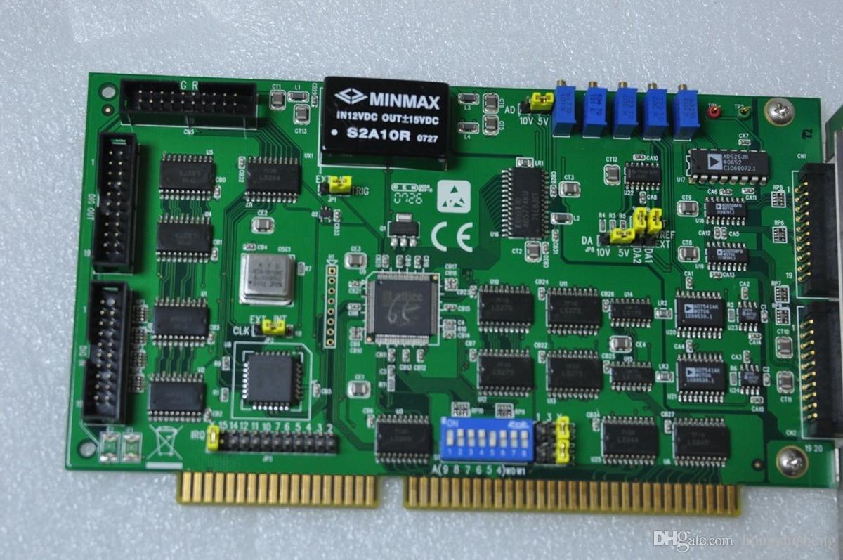 Оригинальная промышленная материнская плата ADVANTECH PCL-812PG REV B1 MultiLab Board 100% проверено, работает, используется, в хорошем состоянии