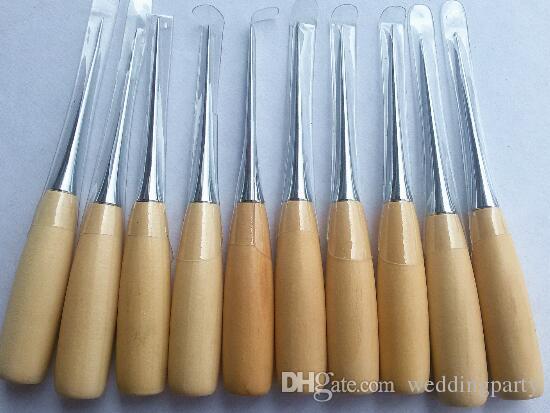 Профессиональные Кожаные Деревянные Инструменты Шила Ручки Для Шить Leathercraft