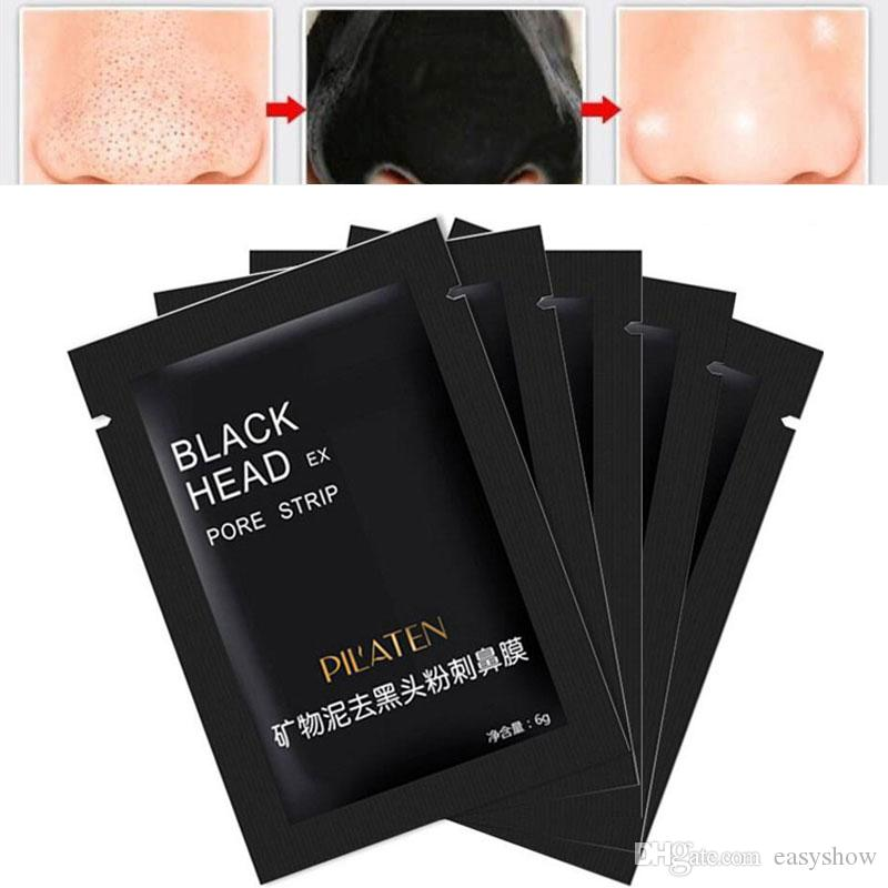 IN STOCK!PILATEN Facial Minerals Conk Nose Blackhead Remover Mask Pore Cleanser Nose Black Head EX Pore Strip