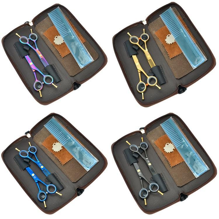 5.5inch Meisha professionnel ciseaux de coiffure kits coupe de cheveux ciseaux à effiler JP440C ciseaux de coiffeur avec sac de coiffure, HA0001