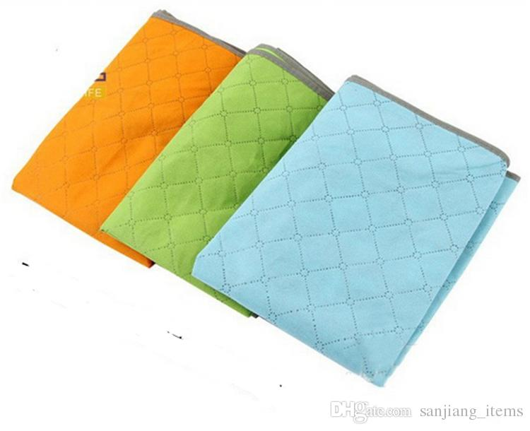 Big Non Woven Quilt Storage Bag Portable Foldable Clothing Blanket Pillow Underbed Bedding Organizer Box Bamboo Charcoal Storage Bags OMG
