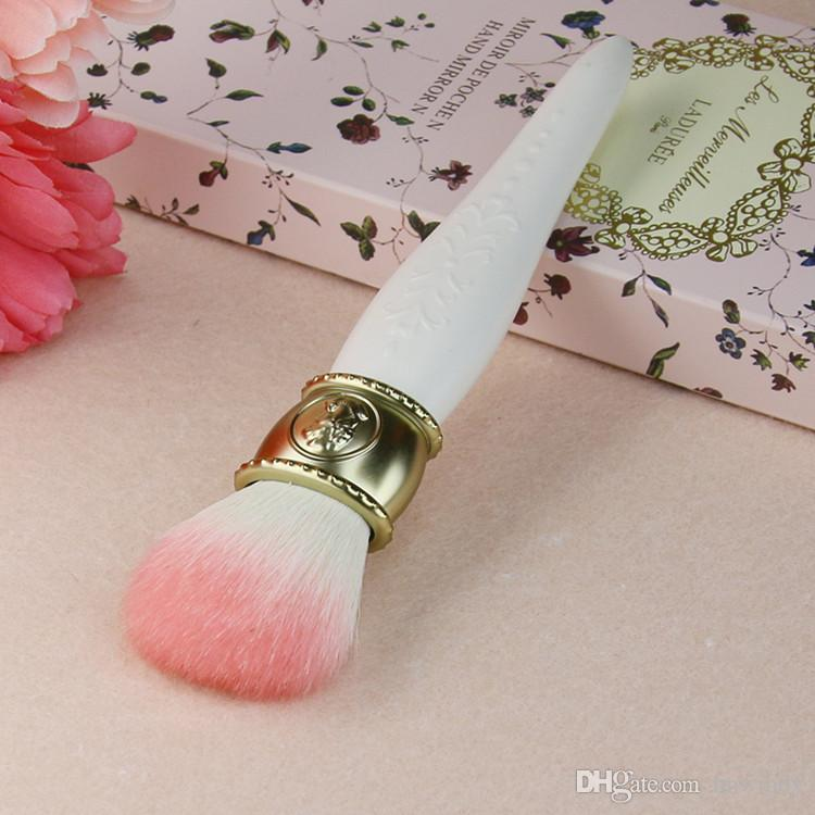 Горячие продажи les Merveilleuses LADUREE щеки / порошок / Фонд кисти Камея фарфор дизайн-красота макияж блендер кисти инструменты дропшиппинг