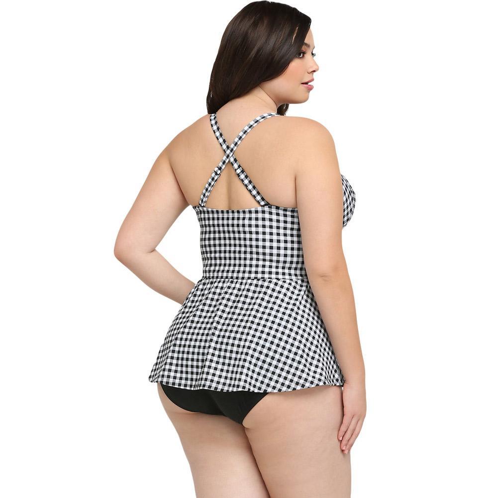 2017 Sexy Swimwear Mulheres Empurram Para Cima de Um Pedaço Swimsuit Meninas Praia Vintage Desgaste Nadar Senhoras Halter Plus Size Beachwear Maiô