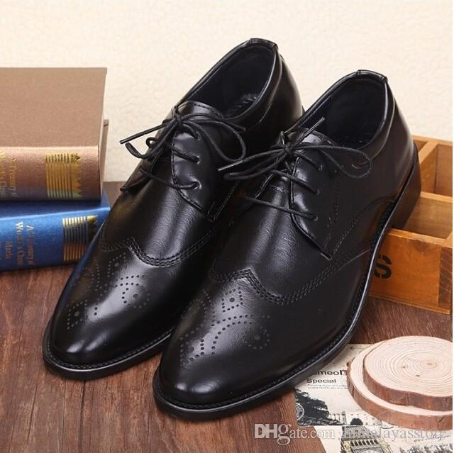 New 2017 Spring Oxford Shoes Men Dress Shoes Leather Office Shoes For Men  Mens Shoes Loafers From Himalayasstore 0bd394825a