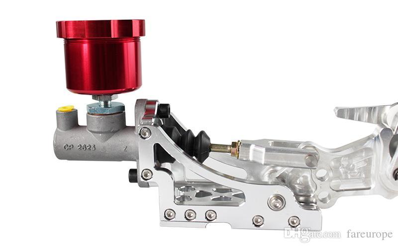 RASTP - Colorful Drift Hydraulic Handbrake Oil Tank for Hand Brake Fluid Reservoir E-brake Black Red Blue Gold RS-HB902