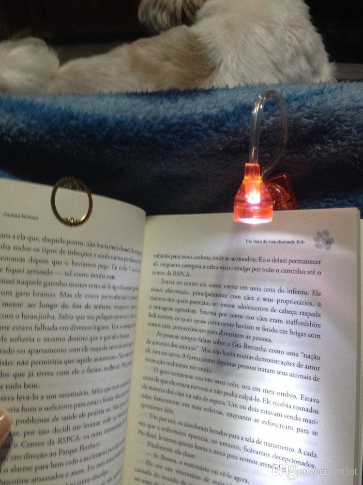 Mini-LED Clip réglable LED Clip Bright On Livre de lecture Mini Lampe de table Lampe de chevet pour les enfants