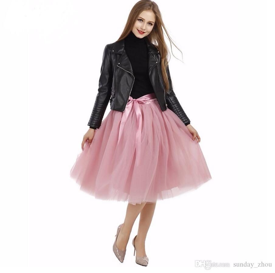 La dernière ms taille jupe automne mode mariage personnalisé longueur au genou PROM mariée jupe taille haute qualité occasions formelles